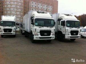 Новые грузовые автомобили