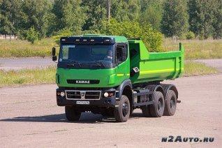 Самосвал КАМАЗ 65802